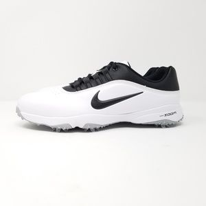 Nike Shoes - Nike Men s Air Zoom Rival 5 Golf Shoes White Black 6da73b31bd2